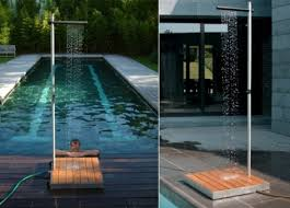 Outdoor Pool Showers - 15 outdoor shower designs for a refreshing summer shower