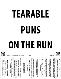 tearable puns posters