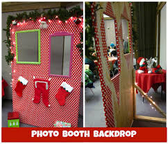 Photo Back Drop Christmas Photo Booth Back Drop Learntoride Co