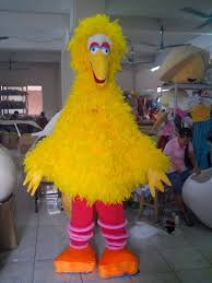 Big Bird Halloween Costumes Shop Cartoon Costumes Cartoon Dolls Cartoon Doll Big Yellow