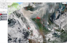 Alaska Fires Map by Fire Detection Cimss Satellite Blog