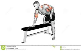 video guides exercising dumbbell bench press while lying on an