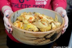 recette de cuisine cookeo poulet au curry au cookeo