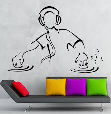 popular dance music vinyl buy cheap dance music vinyl lots from hwhd 2016 new dj wall stickers dj music party night club dance floor vinyl decal free