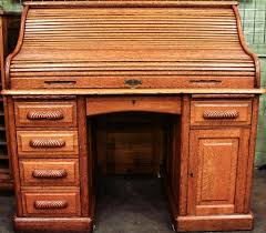 Antique Roll Top Secretary Desk by Furniture Rand U0026 Leopold Roll Top Secretary Desk