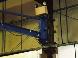 column u0026 wall mounted jib cranes cranes direct uk