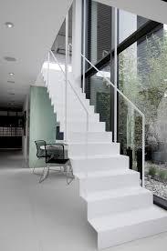 Villa Stairs Design Nilsson Villa Modern Beach House With Black And White Interior