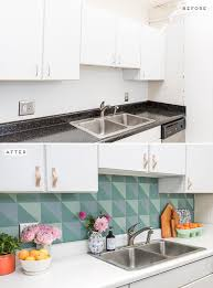 diy budget backsplash idea for the kitchen for under 50 paper