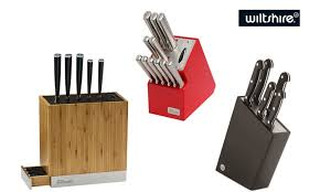 stay sharp kitchen knives wiltshire knife block sets groupon goods
