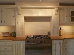 Kitchen Wall Units Kitchen Units Kitchen Wall Unit Cooker Surround 1700mmw Solid Wood