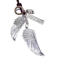 necklace with angel wings images Firefighter guardian angel wings necklace with psalm 91 11 jpg