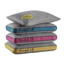 bed gear pillow bedgear freestyle performance memory foam pillow series free
