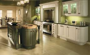 Ivory Colored Kitchen Cabinets Olive Green Painted Kitchen Cabinets Back To Traditional
