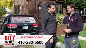 city wide group inc toronto basement waterproofing youtube