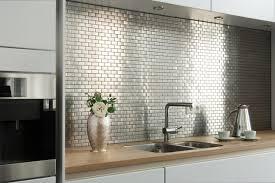 fliesen küche wand edelstahlmosaik mosaikfliesen modern küche hamburg mosafil