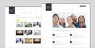 royalstartex minimalist business html template by templatesquare
