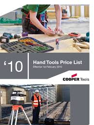 cooper tools hand tools catalogue blade tools