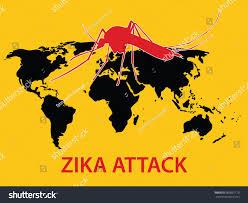 World Map Globe by Zika Virus Attack Concept World Map Stock Vector 383891170