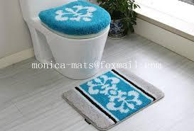 5 Piece Bathroom Rug Sets by 5 Pieces Microfiber Bath Rug Set View Find Complete Details About