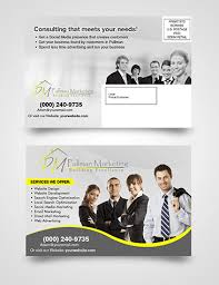 business postcard psd template free download without limits