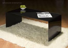 coffee table inspiring bent glass coffee table design ideas