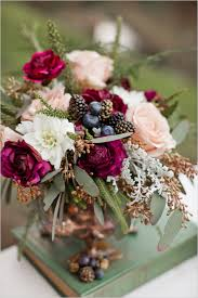 Floral Decor Little Women Woodland Wedding Ideas Woodland Wedding Berry And