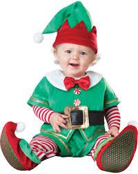 unisex baby christmas rompers suit santa claus elf costume kids