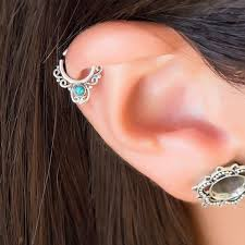 best earrings for cartilage 34 best cartilage tragus helix piercing images on