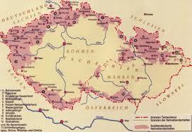 bohemia map historical maps of germany