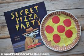 paper plate pizza kid craft