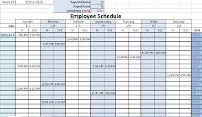 Excel Employee Schedule Template Work Schedule Template Daily Work Schedule Template Daily Work