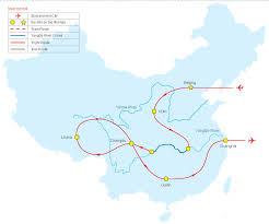 Guilin China Map by Tour Map Of Grand Tibet And Yangtze Tour China Tour Map