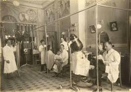 old fashinoned hairdressers and there salon potos hair salon beauty salon vintage old style beauty salons