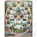 Stock Illustration Of The ODD FELLOWS Members With Biblical Scenes ...