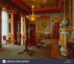 the chinese dining room in buckingham palace stock photo royalty