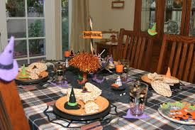 halloween tablecloth the magic hutch another type of halloween witch