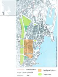 Bombay India Map by Beyond Bombay Art District Reorganization Of Art Production Into