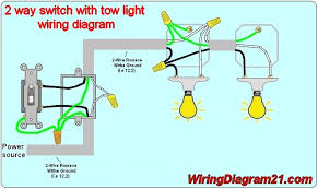 2 way light switch 2 way switch wiring diagram multiple lights tciaffairs