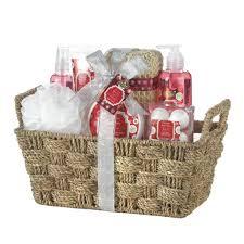 bath gift basket cinnamon and spiced apple bath gift set jt home away