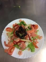 moules cuisin馥s salade fraîcheur crevettes asperges pequillos moules cuisinées