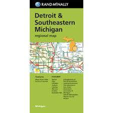 Map Of Lansing Michigan by Folded Maps Detroit U0026 Southeastern Michigan