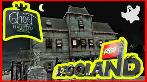 the scariest ghost haunted house legoland halloween youtube