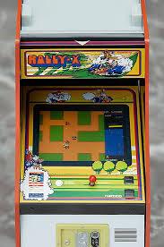 Galaga Arcade Cabinet Namco Mini Arcade Machine Collection Honors Galaga Pac Man Tank