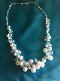 pearls necklace making images A hint of sparkle unique diy pearl jewelry ideas jpg