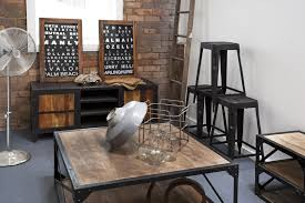 industrial chic furniture decor ideas design decors with beautiful