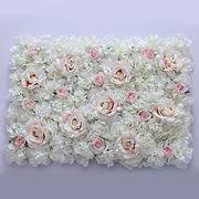 wedding backdrop flower wall china artificial flower wall for wedding backdrop from jinhua