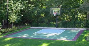 Backyard Sport Courts by Indoor Outdoor Basketball Courts Commercial Backyard