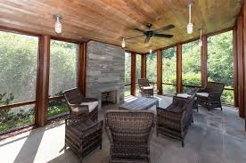contemporary porch with sun room u0026 screened porch zillow digs