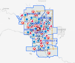 Calgary Map 26 Communities Calgary Police Will Have Photo Radar In This June