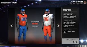 madden nfl 17 franchise mode oklahoma city relocation team guide